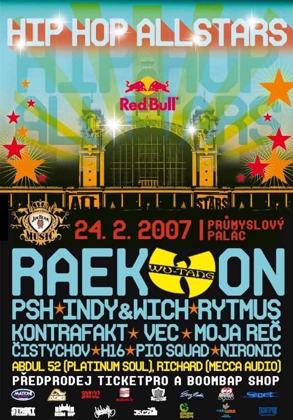 Raekwon z Wu-Tang Clanu v Praze