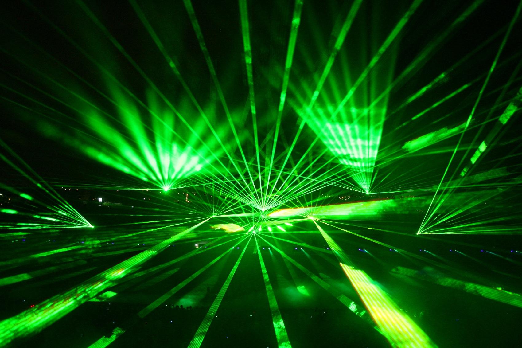 Pyro Music Laser Fest s Kryštof