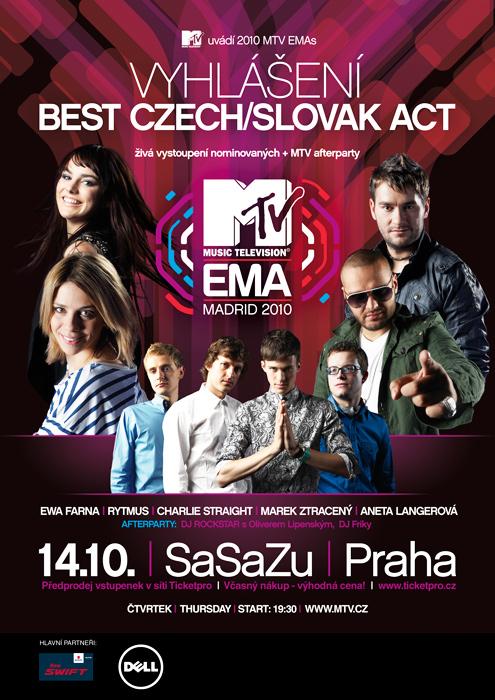 Ceny MTV: Rytmus nebo Ewa Farna?