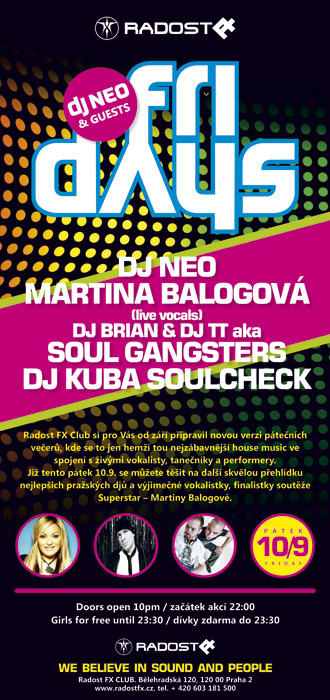 DJ Neo a Martina Balogová v Praze