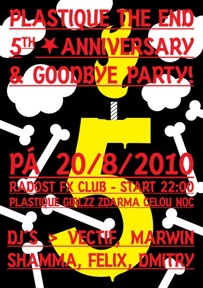 Zítra poslední Plastique party