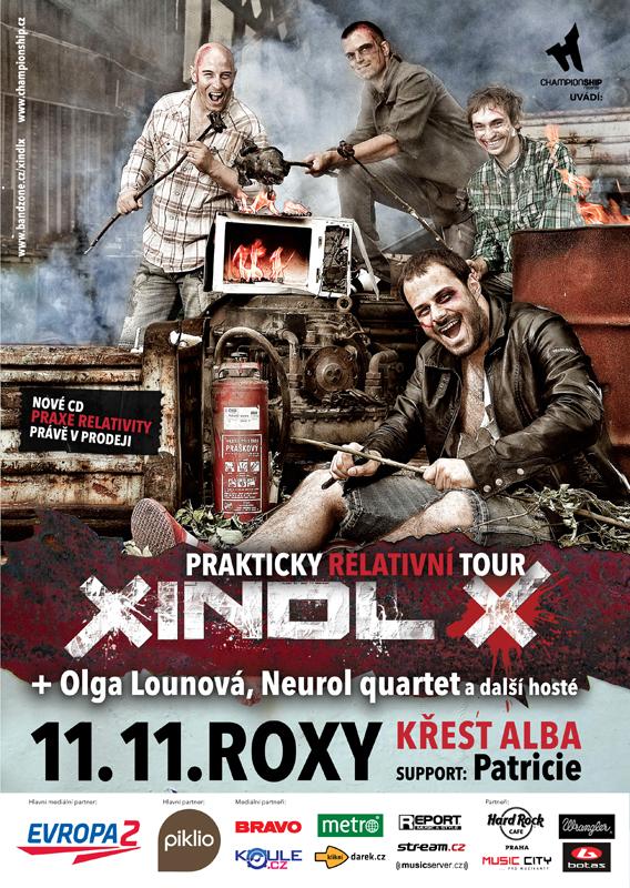 Xindl X chystá country show v Roxy