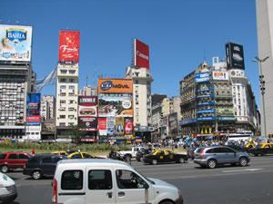 Monkey Business v Argentině - 1. část