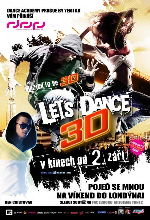 Vyhrajte ceny z filmu Let's Dance 3D