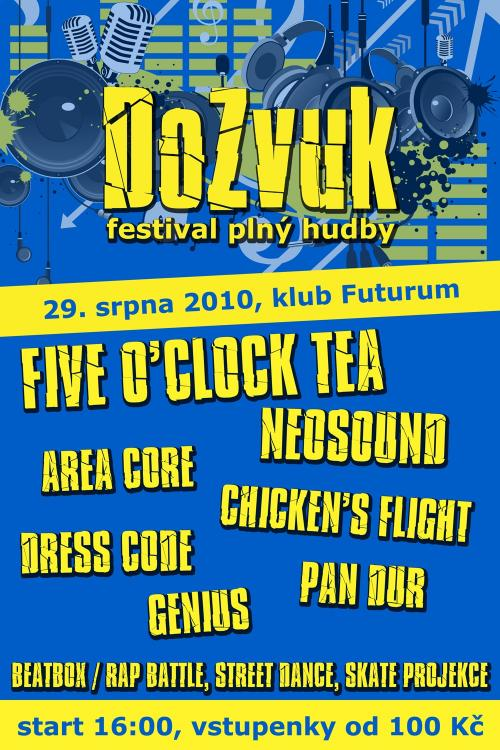 Festival DoZvuk s Five O'Clock Tea