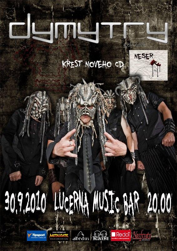 Dymytry pokřtí album Neser!