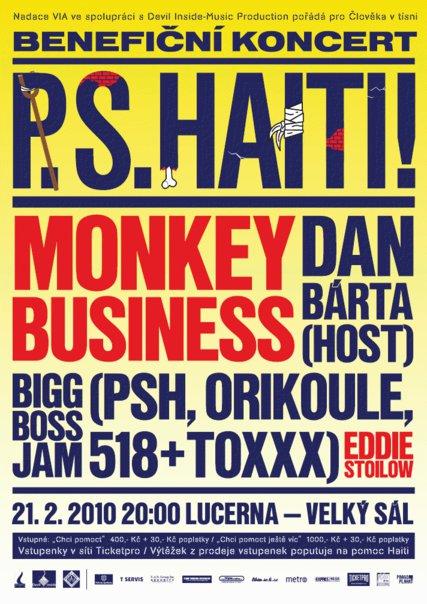 Benefiční koncert P.S. Haiti