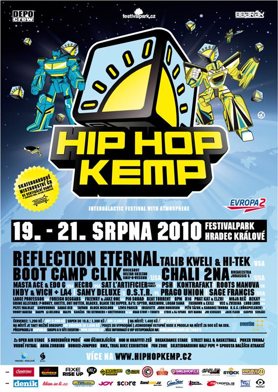 Line-up Hip Hop Kempu