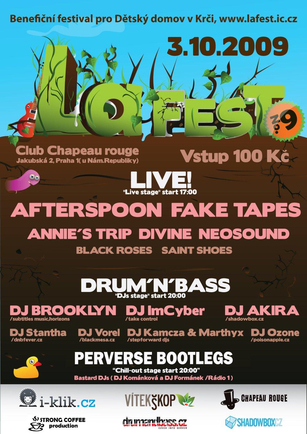 La Fest už tuto sobotu!