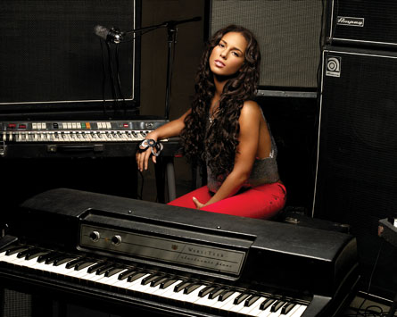Alicia Keys vystoupí dnes v Praze