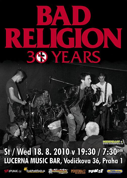 Bad Religion: ikony se vrací do Čech