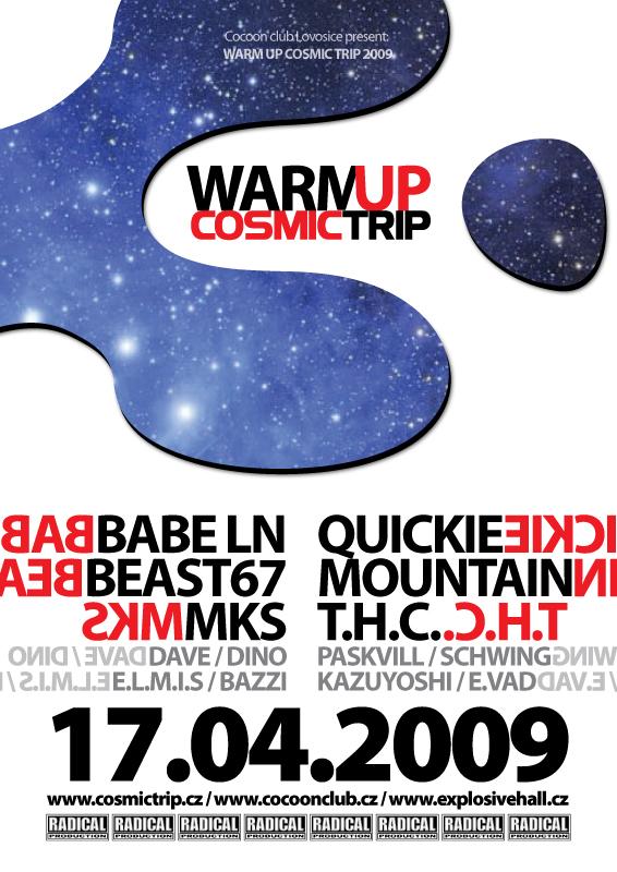 Cosmic Trip chystá zahřívací turné