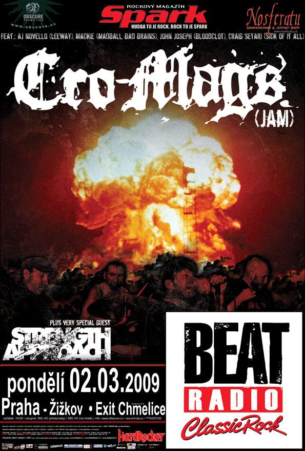 Cro-Mags: americký hardcore v ČR