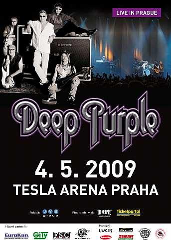 Deep Purple zahrají v květnu Praze