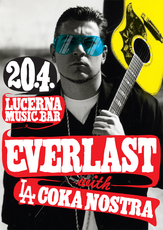 Everlast: rapper s kytarou v Praze