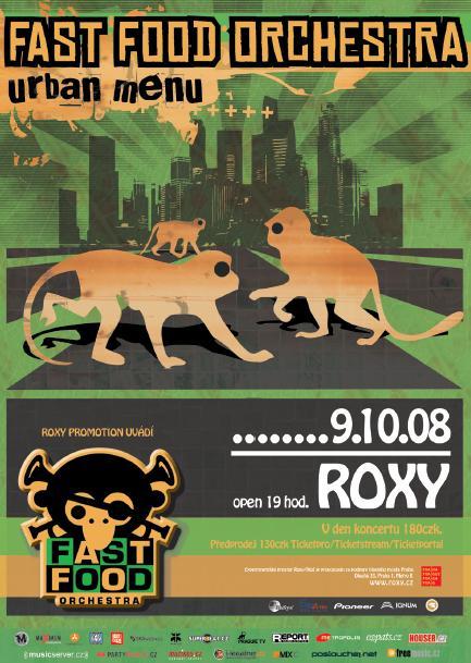 Fast Food Orchestra již zítra v Roxy