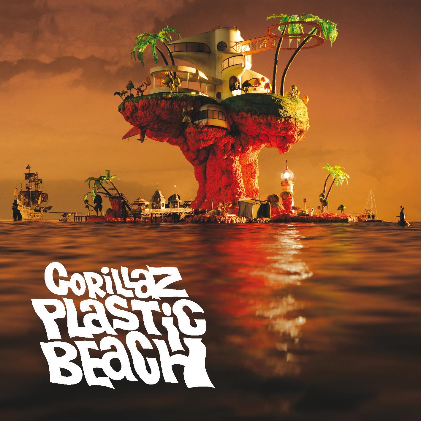 Gorillaz zvou na plastikovou pláž