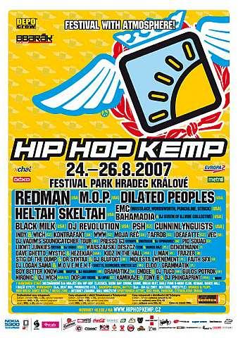 Hip Hop Kemp klepe na dveře