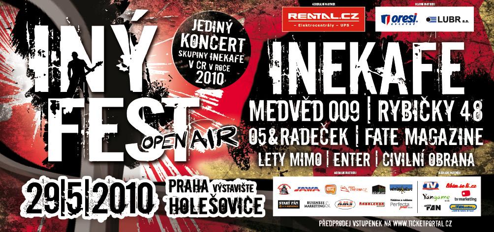 Iné Kafe zahrají v květnu v Praze