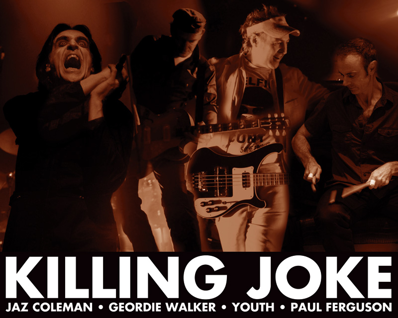 Koncert Killing Joke se přesouvá