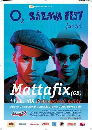 Mattafix hvězdami Jarního Sázavafestu