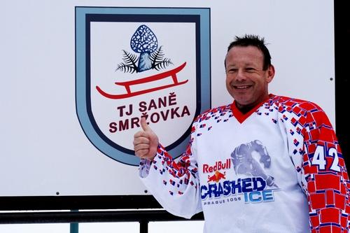 Michal Dvořák projede ledové koryto