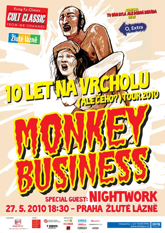 Monkey Business: jsme na vrcholu