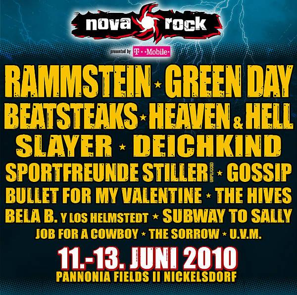 Nova Rock: festival splněných přání