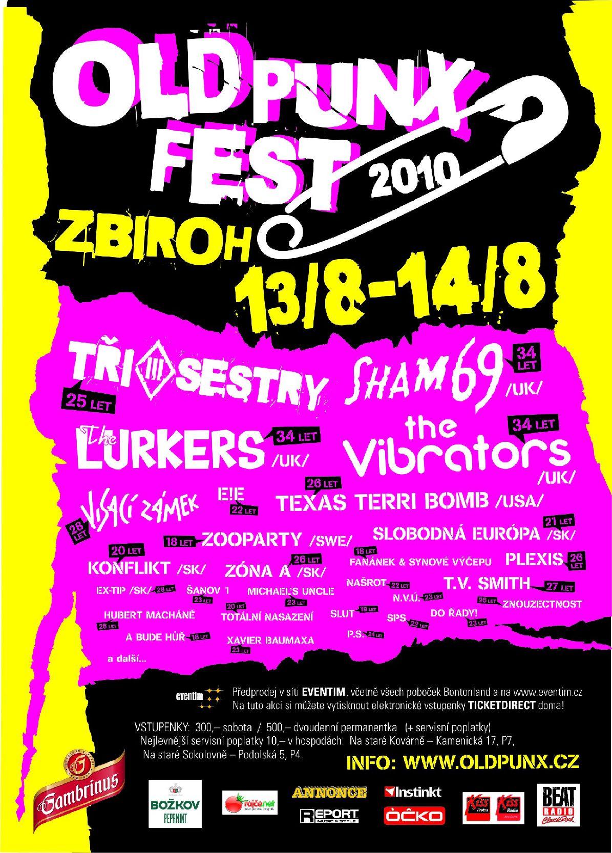 Old Punx: festival pro plnoleté