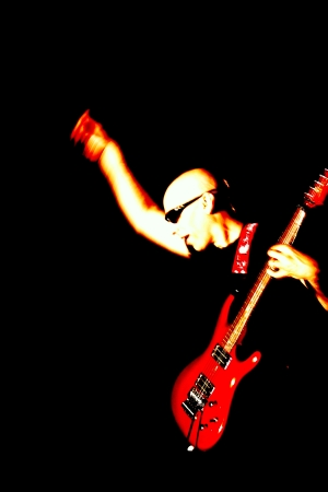 Joe Satriani: slavný rocker v ČR