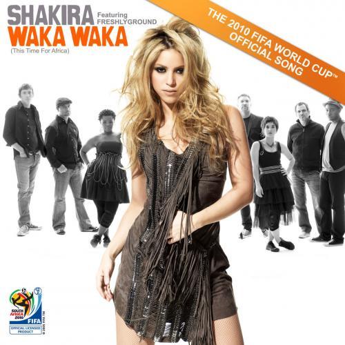 Shakira fandí a zpívá fotbalu