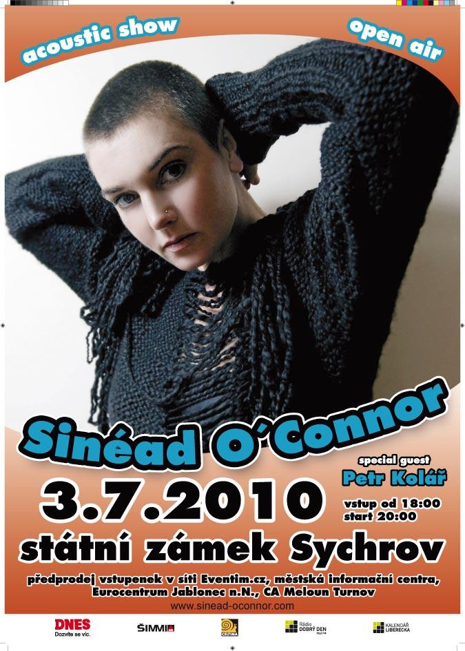 Sinéad: akusticky na českém zámku