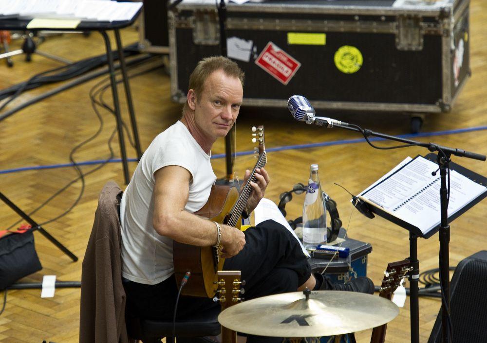 Sting přiveze do Prahy orchestr