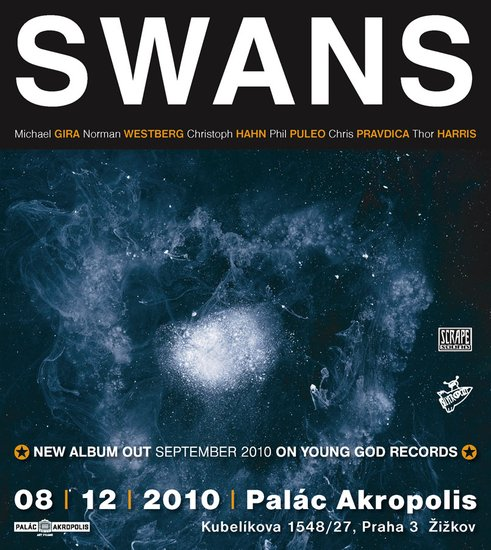 Swans: oživlý kult míří do Prahy