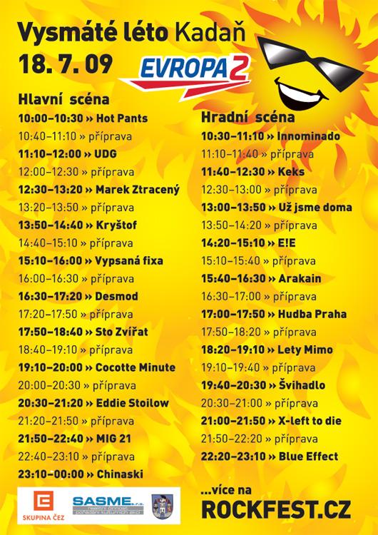 Vysmáté léto: festival české muziky