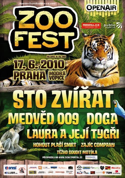 Prahu čeká zvířecí festival plný hudby