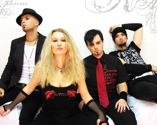 Calathea: gothic rock počesku