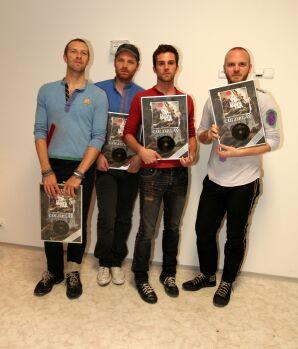 Coldplay nadělují vánoční dárky