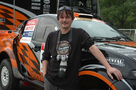 Michal Malátný referuje o Dakaru