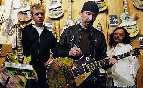 The Edge z U2 vydraží svou kytaru