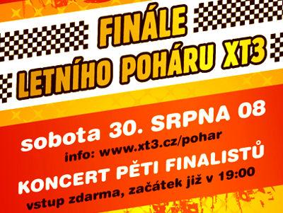 Letní finále XT3: soutěž kapel finišuje