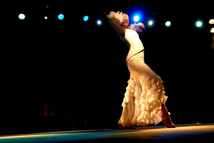 Flamenco hvězda v Praze