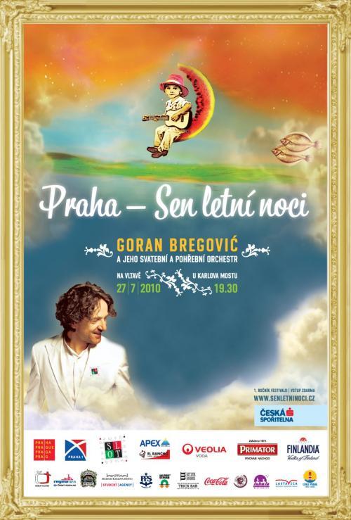 Bregović zahraje přímo na Vltavě