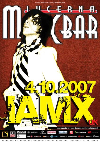 IAMX Čechy milují. Přijedou v říjnu