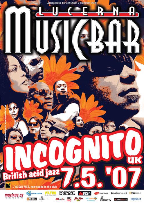 Incognito zaexcelují v Music Baru