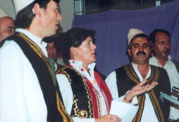 Respect přiveze albánské polyfonie