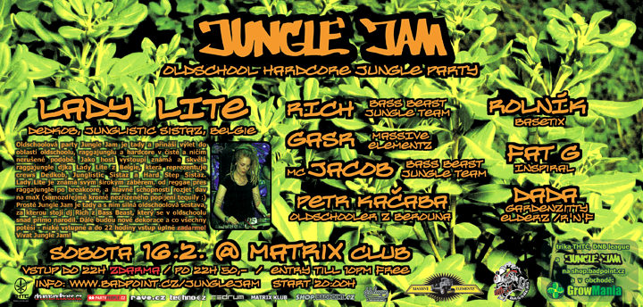 Jungle Jam: party s nádechem retra