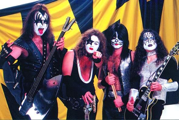 Kiss zahrají v červnu v Praze