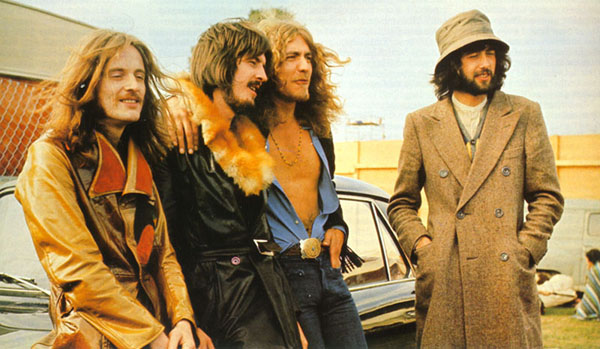 Led Zeppelin chtějí na internet