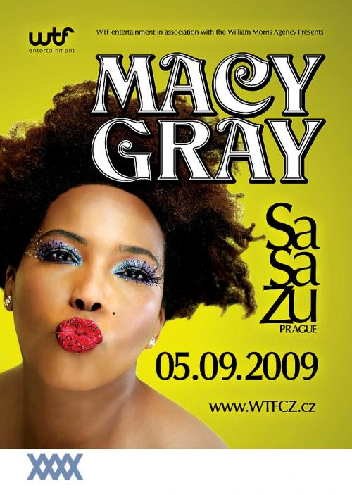 Macy Gray točí album a míří do Prahy